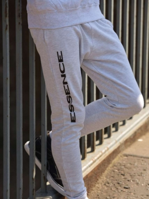 Just Hoods Kalhoty & doplňky AWJH074 TAPERED TRACK PANT
