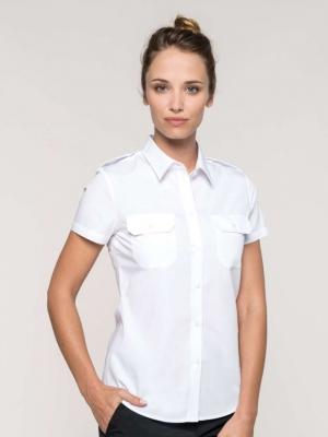 Kariban Firemní oděvy KA504 LADIES' SHORT SLEEVE PILOT SHIRT