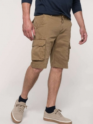 Kariban Kalhoty & doplňky KA754 MEN'S MULTIPOCKET BERMUDA SHORTS