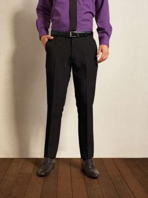 Premier Kalhoty & doplňky PR528L MEN'S SLIM FIT POLYESTER LONG LEG TROUSERS